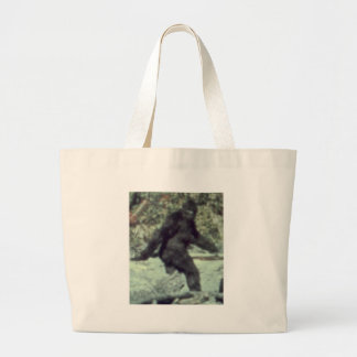 ORIGINAL 1967 BIGFOOT SASQUATCH PHOTO LARGE TOTE BAG
