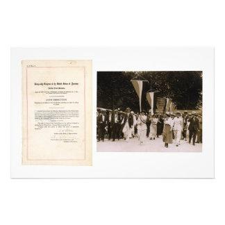 ORIGINAL 19th Amendment U S Constitution Custom Stationery