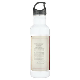 ORIGINAL 22nd Amendment U.S. Constitution 710 Ml Water Bottle