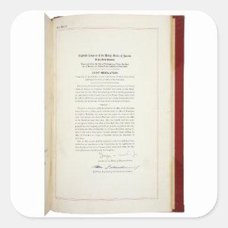 ORIGINAL 22nd Amendment U.S. Constitution Sticker