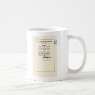 ORIGINAL 23rd Amendment U.S. Constitution Basic White Mug