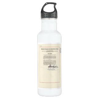 ORIGINAL 23rd Amendment U.S. Constitution 710 Ml Water Bottle