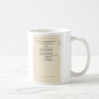 ORIGINAL 24th Amendment U.S. Constitution Basic White Mug