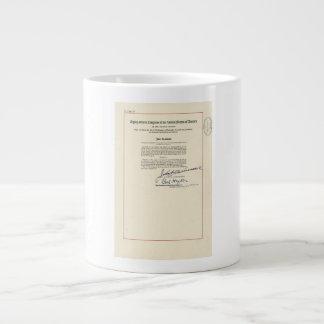 ORIGINAL 24th Amendment U.S. Constitution Jumbo Mug