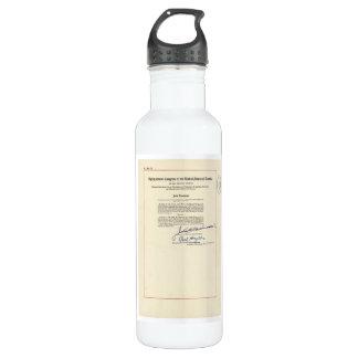 ORIGINAL 24th Amendment U.S. Constitution 710 Ml Water Bottle