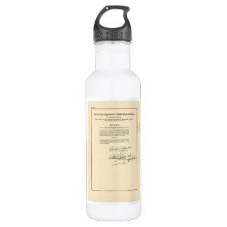 ORIGINAL 26th Amendment U.S. Constitution 710 Ml Water Bottle