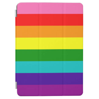 Original 8-Stripe LGBT Gay Pride Rainbow Flag iPad Air Cover