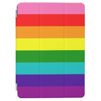 Original 8-Stripe LGBT Gay Pride Rainbow Flag iPad Air Cover