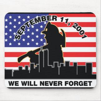Original 9/11 Firefighter Design Mouse Pad