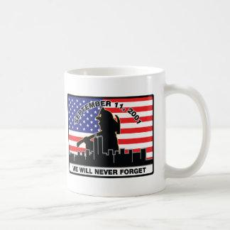 Original 9/11 Firefighter Design Mug