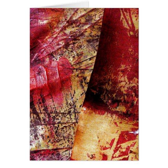 Original Abstract Art - Painting Abstract Card