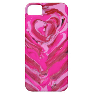 Original abstract painting on iPhone case