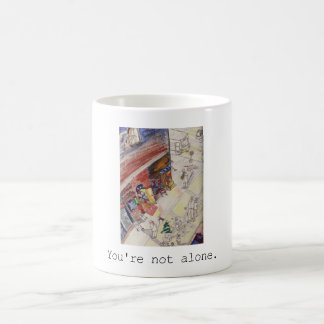 Original art is designated as motif basic white mug