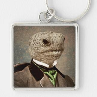 Original Art Turtle Tortoise Keychain