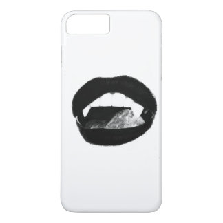 Original art vampire lips iPhone 7 plus case