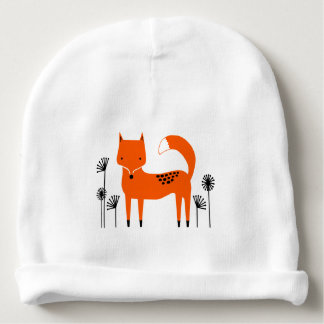 """Original art work"" country wild fox Baby Beanie"