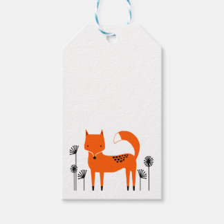 """""""Original art work"""" Fred the Fox Gift Tags"""