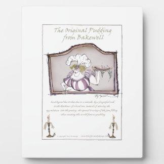 Original Bakewell Pudding, tony fernandes.tif Display Plaque
