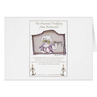 Original Bakewell Pudding, tony fernandes.tif Greeting Card