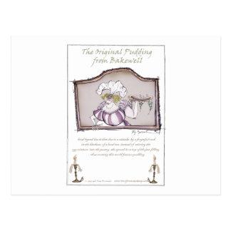 Original Bakewell Pudding, tony fernandes.tif Postcard