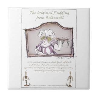 Original Bakewell Pudding, tony fernandes.tif Small Square Tile