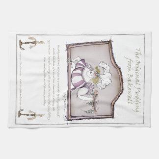 Original Bakewell Pudding, tony fernandes.tif Tea Towel