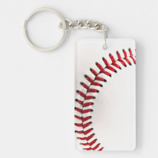 Original baseball ball key ring