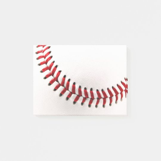 Original baseball ball post-it notes