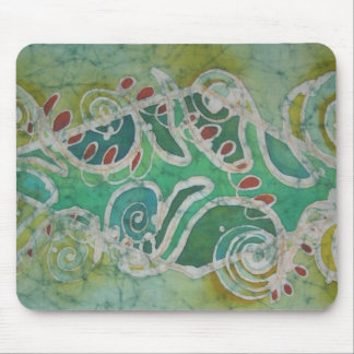 Original batik design by Zorica Duranic Mouse Pad