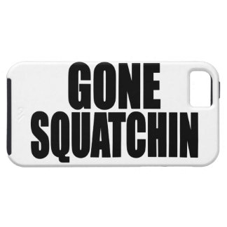 Original Best-Selling Bobo s GONE SQUATCHIN iPhone 5 Case