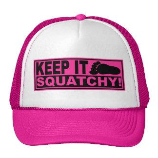 Original Best-Selling Bobo s KEEP IT SQUATCHY Mesh Hats