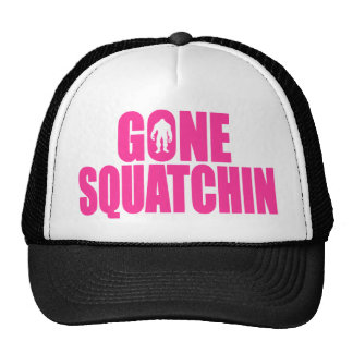 Original & Best-Selling Bobo's GONE SQUATCHIN Pink Cap