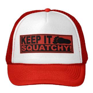 Original & Best-Selling Bobo's KEEP IT SQUATCHY! Mesh Hats