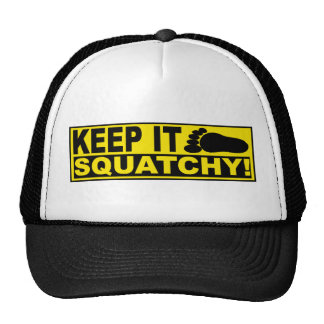 Original & Best-Selling Bobo's KEEP IT SQUATCHY! Cap
