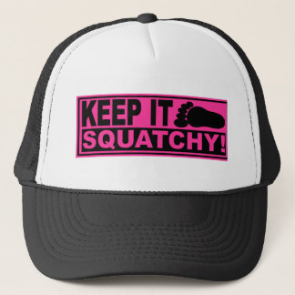 Original & Best-Selling Bobo's KEEP IT SQUATCHY! Trucker Hat