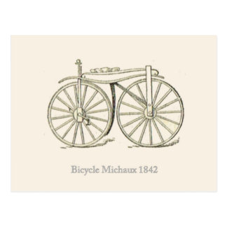 Original Bicycle Michaux 1842 French Postcards