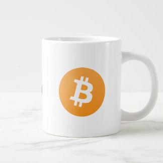 Original Bitcoin Logo Large Coffee mug