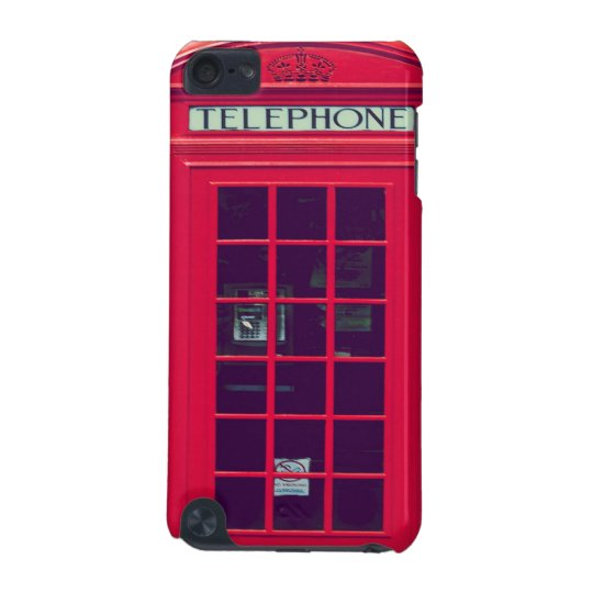 Original british phone box iPod touch (5th generation) covers