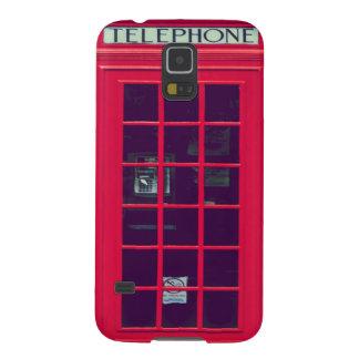 Original british red phone box galaxy s5 cover