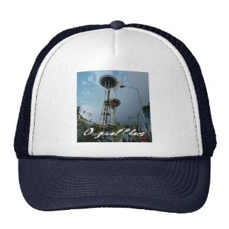 Original Chaos Tropic Needle Navy Snapback Cap