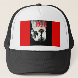 Original Chaos War Needle Black & Red Snapback Cap
