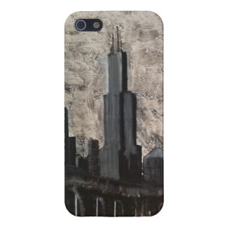 Original Chicago Painting iPhone 5/5S Cover