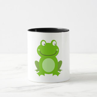 Original Classic mug with Little green Frog