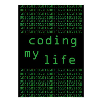 original Coding My Life poster (exclusive)
