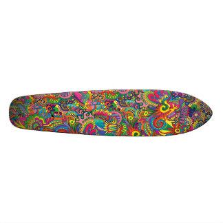Original Colourful Printed Skateboard