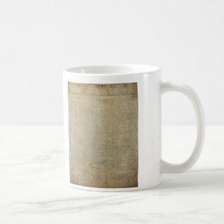 Original Declaration of Independence Basic White Mug