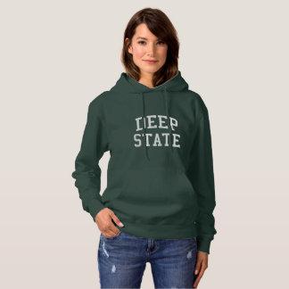 ORIGINAL Deep State women's dark hoodie