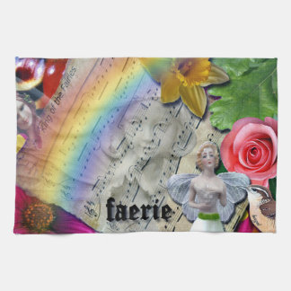Original Design, Fairy Collage Tea Towel