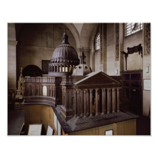 Original Design for St. Paul's Cathedral Poster