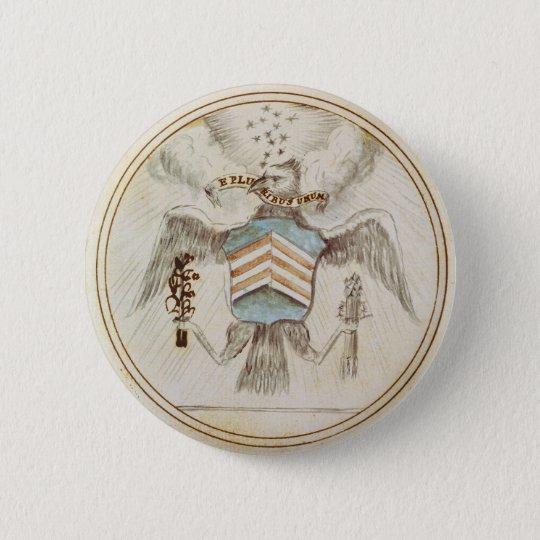 Original Design Great Seal of the United States 6 Cm Round Badge